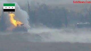 нападение на колонну Сирия 2