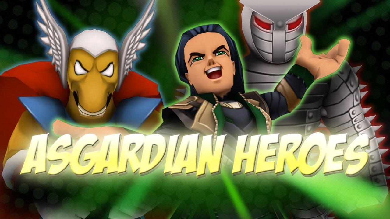 super heroes online