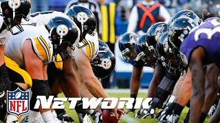 Holiday Hatred: Steelers vs. Ravens Rivalry | NFL Now | Wrangler Comfort Zone