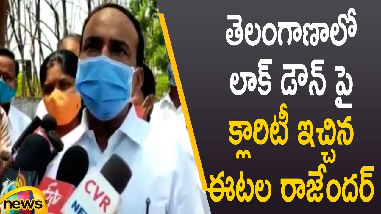 Download Etela Rajender Gives Clarity Over Lockdown & Night Curfew in Telangana | TS Govt | Mango News