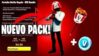 *NEW* FREE FORTNITE x KFC PACK! *600 PAVOS, SKIN AND PICO FREE* Fortnite: Battle Royale