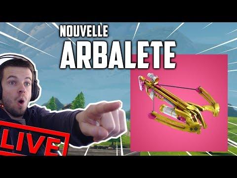 nouvelle-arbalÈte-fortnite-battle-royal-!-[new-patch-2.4.2---live-fr---facecam---pc]