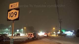 Suffolk County - Long Island NY Heavy Snows - 12/15/2017