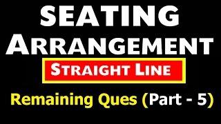 Straight line Arrangement (Remaining  Question ) Part - 5 thumbnail