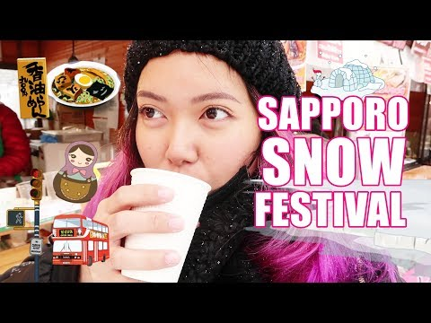 SAPPORO SNOW FESTIVAL TOUR!!! (Feb. 7, 2019) - saytioco