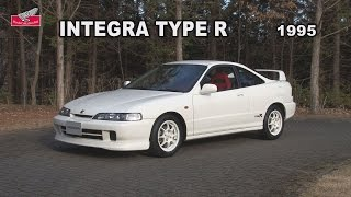 Honda Collection Hall 収蔵車両走行ビデオ INTEGRA TYPE R(1995年)