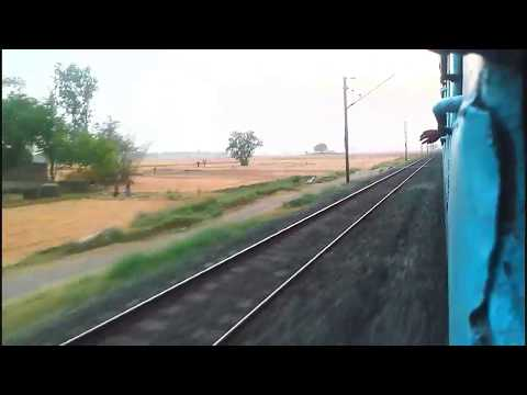 13256 Chandigard Patliputra Express Cruising Through MGS-PNBE Stretch