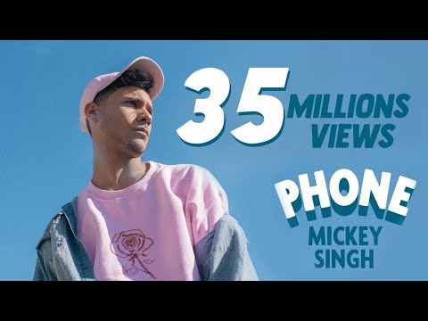 Thumbnail: Mickey Singh - Phone [Official Video] 4K