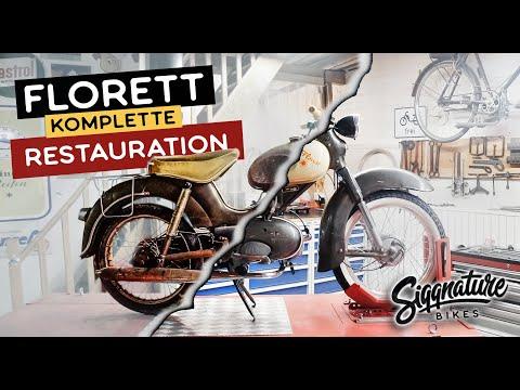 KREIDLER FLORETT | VOM SCHROTTPLATZ GERETTET | Komplette Restauration in einem Video