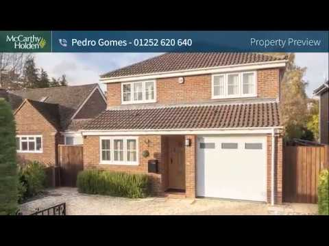 A Four Bedroom Detached Property in Fleet Town Centre
