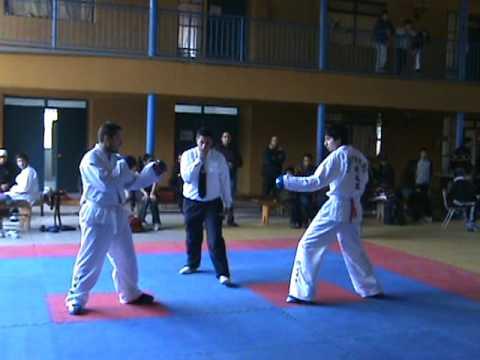 Torneo Taekwondo - Apumanque La Calera - Segundo Combate