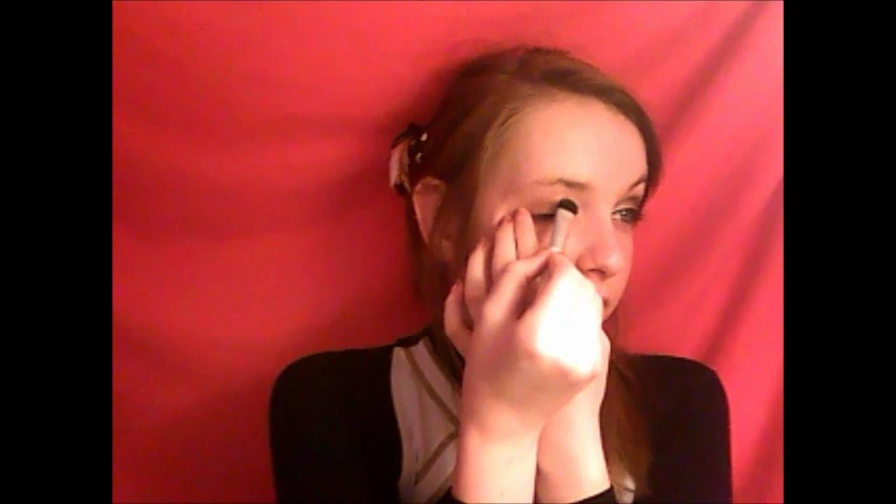 Cheerleading makeup tutorial school cheer youtube baditri Image collections
