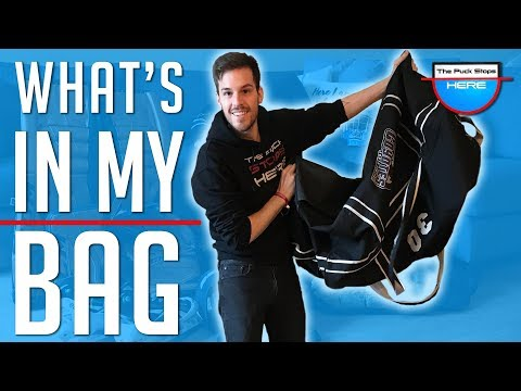 What's In My Hockey Bag - Goalie Equipment Breakdown