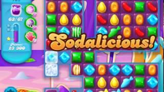 Candy Crush Soda Saga LEVEL 702 ★★★STARS( No booster )
