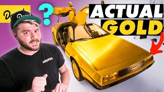 How This 24K GOLD PLATED DeLorean Became an '80s Nightmare | Bumper 2 Bumper