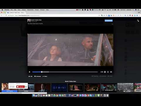 how does Social video downloader chrome extension work.