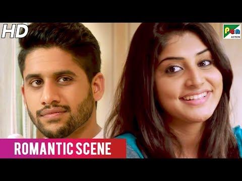 Naga Chaitanya- Manjima Mohan Romantic Scene | Rowdy Rajnikanth | New Hindi Dubbed Movie
