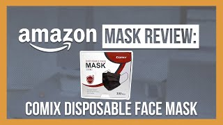Comix Disposable Face Mask Review