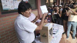 Votación presidencial en Bolivia con difícil reto para Evo Morales | AFP