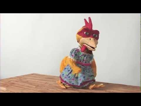 Stop Motion Animation Screentest:  Ms Chicken