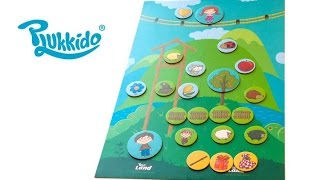 PLUKKIDO LAND BOARD GAME || REVIEW ||