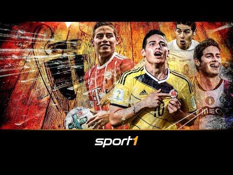 James Rodriguez: Sein Aufstieg zum Weltstar | SPORT1