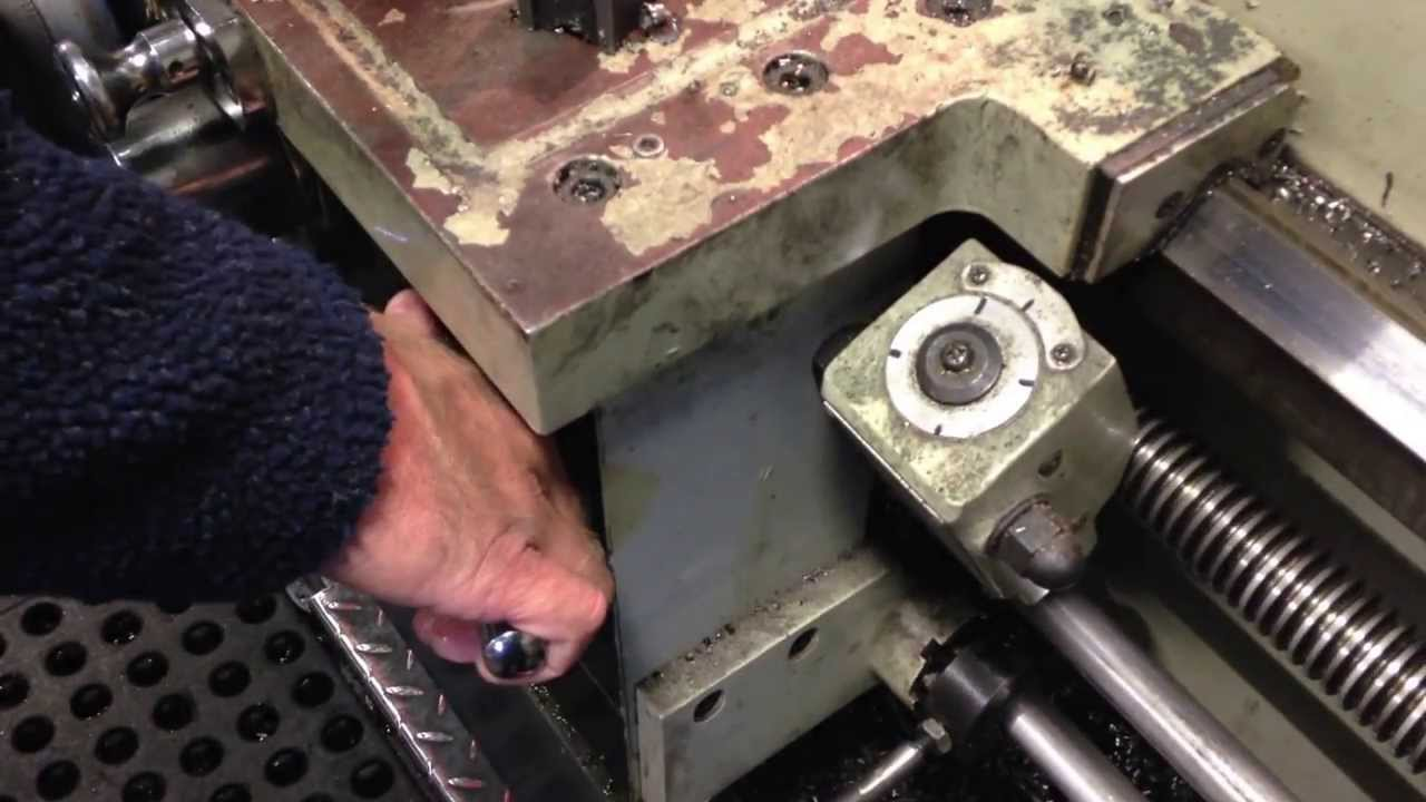 How To Cut A Thread On Manual Lathe Youtube Jet Wiring Diagram