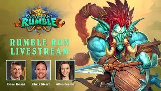 Rumble Run Livestream | Hearthstone