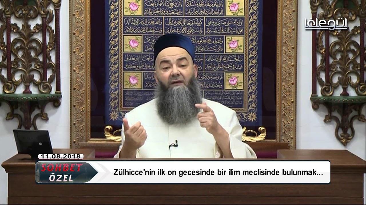 11 Ağustos 2018 Tarihli Sohbet Özel - Cübbeli Ahmet Hocaefendi Lâlegül TV