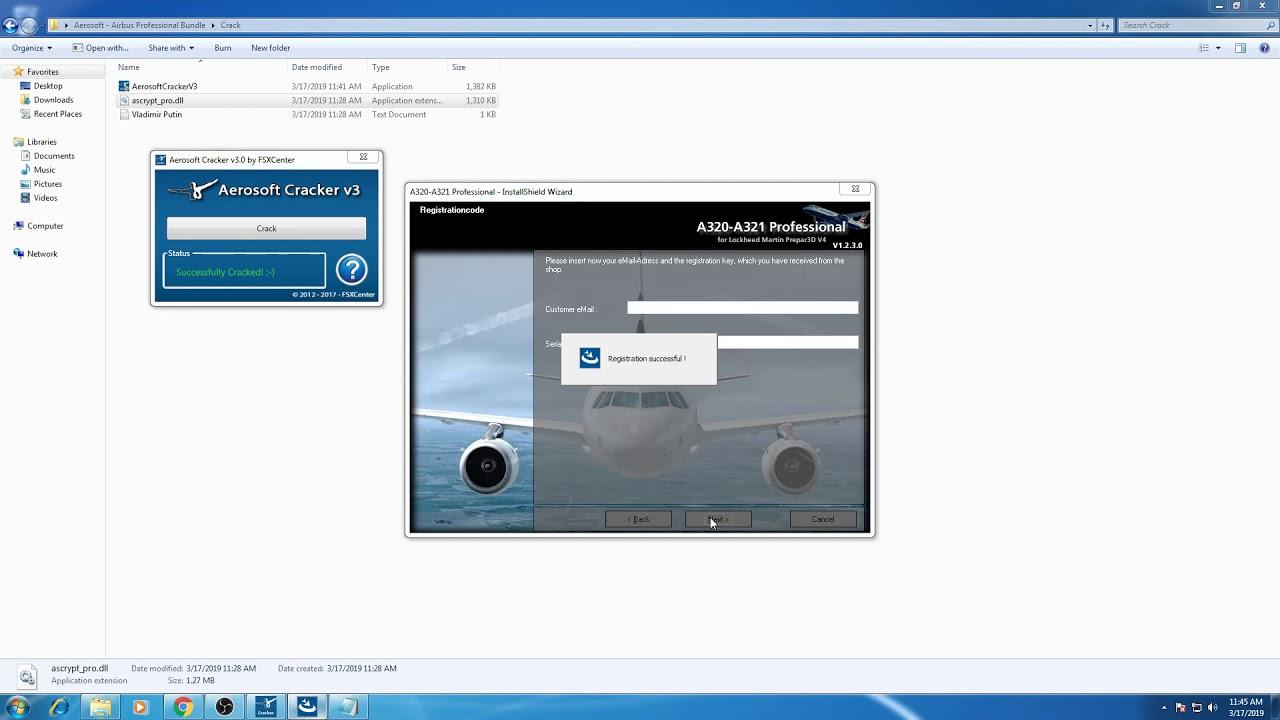 How to install A320-A321 Aerosoft Professional P3DV4