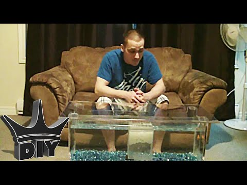 HOW TO: Coffee Table Aquarium TUTORIAL
