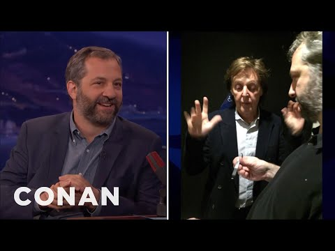 Judd Apatow: Paul McCartney Refused To Give Me His Number  - CONAN on TBS