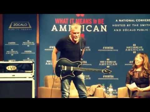 HD The Eddie Van Halen Smithsonian