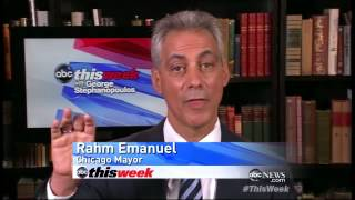 Mayor Rahm Emanuel Discusses Mitt Romeny's Tax Returns and Bain Capital History