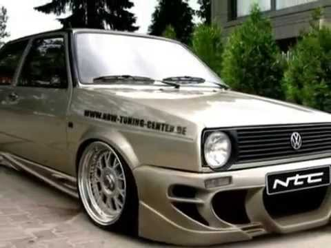 Volkswagen Golf 3 tuning history - YouTube