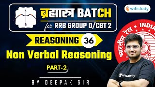 10:15 AM - RRB Group D/CBT-2 2020-21 | Reasoning by Deepak Tirthyani | Non-Verbal Reasoning (Part-2)