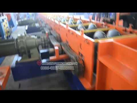 highway rail profile forming machine