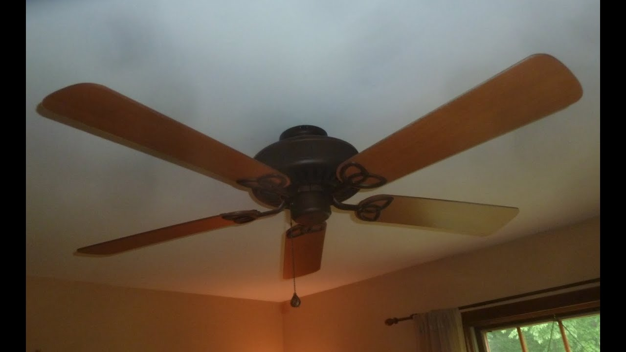 52 Quot Harbor Breeze Classic Style Ceiling Fan Youtube