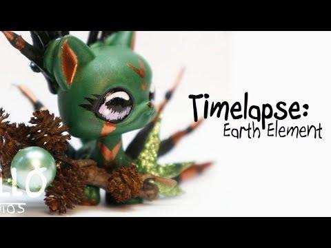 Earth Element - LPS custom Timelapse - Handpainted by HelloStudios