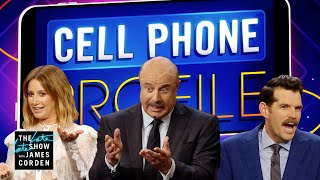 Cell Phone Profile: Ashley Tisdale, Timothy Simons & Dr. Phil