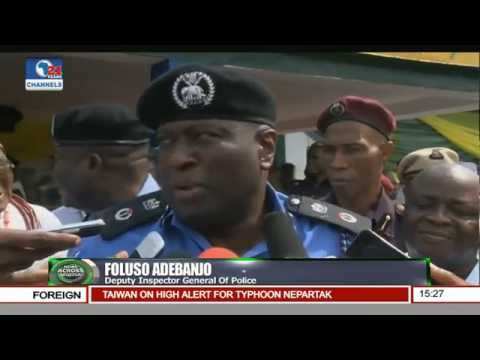 News Across Nigeria: 16-Man Robbery Gang Paraded By Anambra Police
