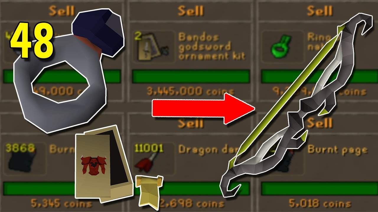 I Took a Risk on a Mini Investment    Will it pay Off? Flipping 1gp to  Twisted Bow #10 [OSRS]