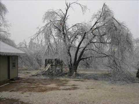 Icy Storm in Broken Arrow Dec 10 2007