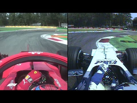F1's Fastest Laps: Raikkonen and Montoya at Monza Compared