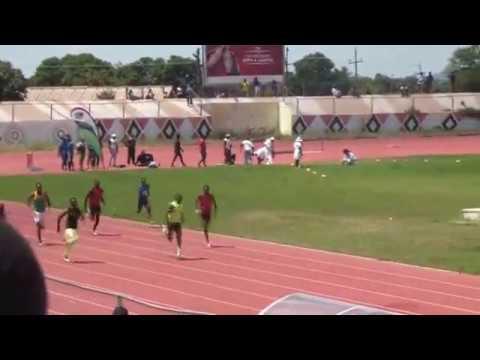 Gerren Muwishi(Bhiza) wins 200m Final (ZUSA 2017)