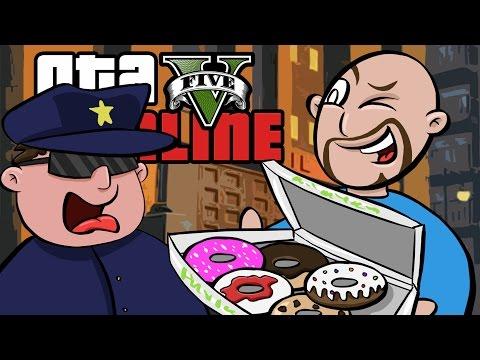 GTA 5 Online ★ PAID OFF THE COPS (Dumb & Dumber)