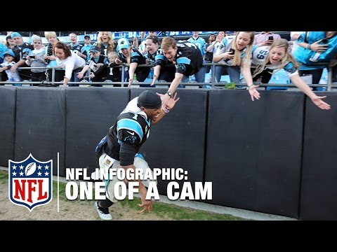 One of A Cam: Newton's Special Place in NFL History | NFL Infographic