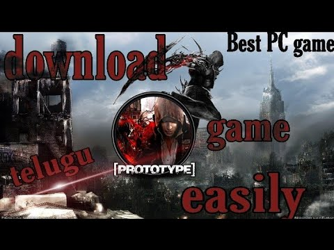 How To Download And Install Prototype Game Into Your Pc Easily In Telugu/SV STUDIO