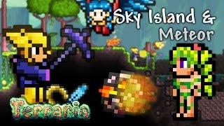 Terraria Let's Play - Sky Island & Meteor [21]