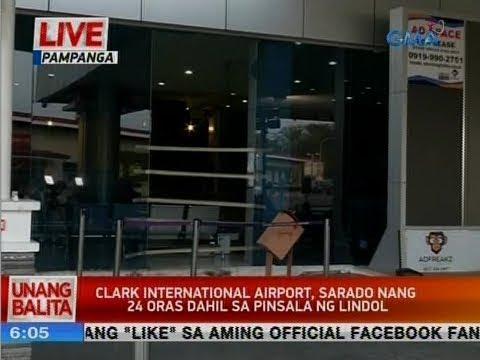 UB: Clark International Airport, sarado nang 24 oras dahil sa pinsala ng lindol